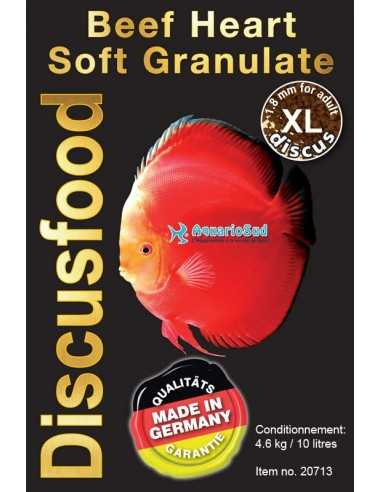 DISCUSFOOD Beef Heart Granluat Soft XL - 10 litres