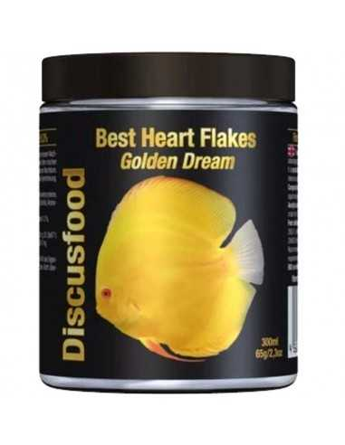 DISCUSFOOD Best Heart Flakes Golden Dream 65g