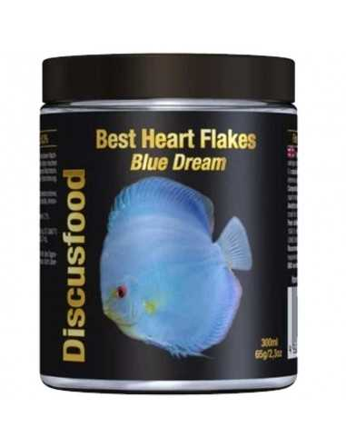 DISCUSFOOD Best Heart Flakes Blue Dream 65g