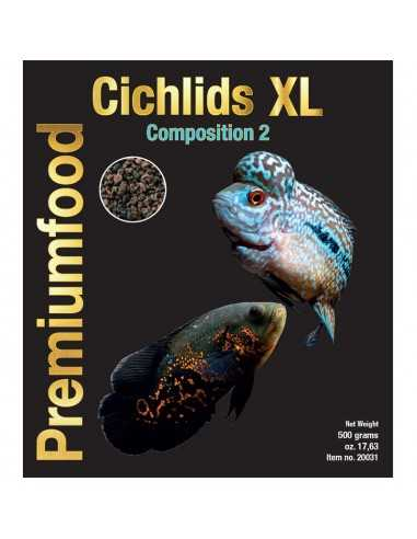 DISCUSFOOD Cichlids XL Composition 2